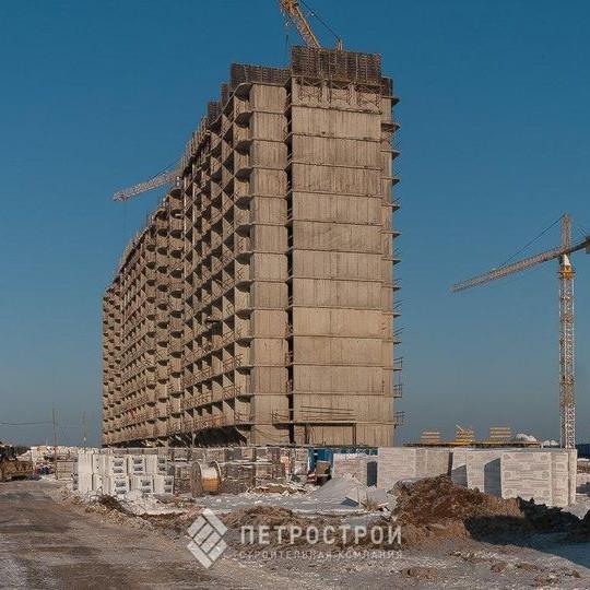 ЖК Материк этап строительства 2018