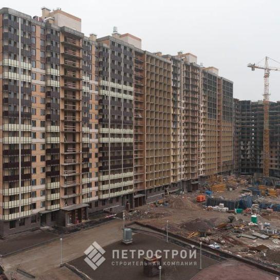 ЖК Материк этап строительства